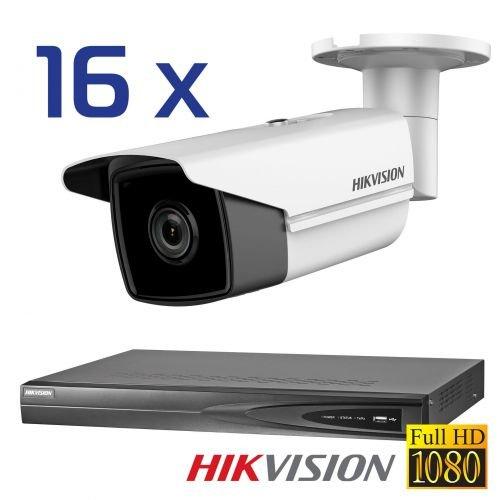 16-x-Hikvision-DS-de-2cd2t42wd-de-i5-4-mm-4-MP-Bullet-MK-209