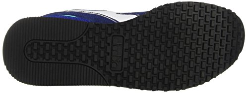 Diadora Malone W, Sneaker a Collo Basso Donna Blu (Blu Stampa/Verde Ceramica Chia)