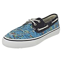 Sperry Top-Sider Bahama 2 Eye Hawaii Mens Boat/Deck Shoes-Blue-8