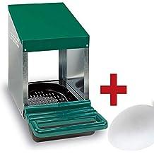 FINCA CASAREJO Ponederos para gallinas + 1 Huevo Macizo de Regalo. Ponedero Huevos Eco 1