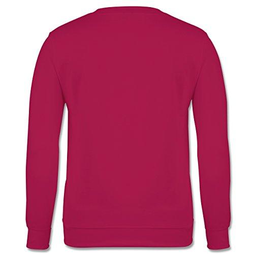Laufsport - Lächle du hast dafür bezahlt - Herren Premium Pullover Fuchsia