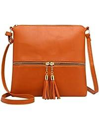 a4898610814 Amazon.fr   Orange - Sacs bandoulière   Femme   Chaussures et Sacs