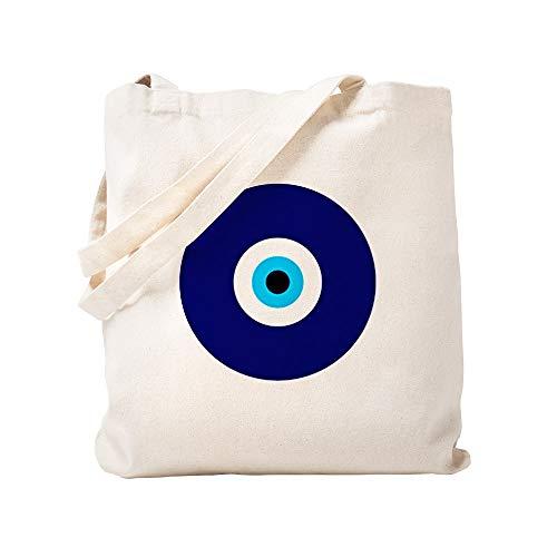 CafePress Einkaufstasche aus natürlichem Segeltuch, Motiv: Böser Blick
