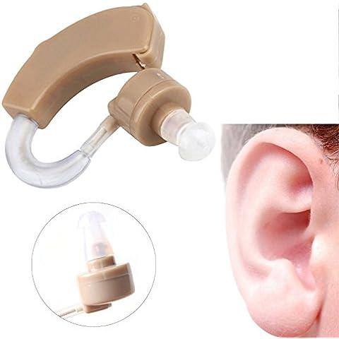 ewinever(R) Kit Tocar Moderado Prótesis De Oído Severa Pérdida 1set Digital Detrás De La Oreja Pequeña Bte La Voz Del Sonido Amplifieramplifier