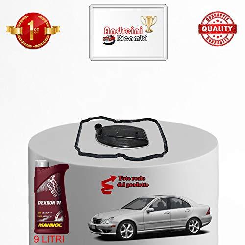KIT FILTRO CAMBIO AUTOMATICO E OLIO CLASSE C200 CD W203 75KW 2006 |1015