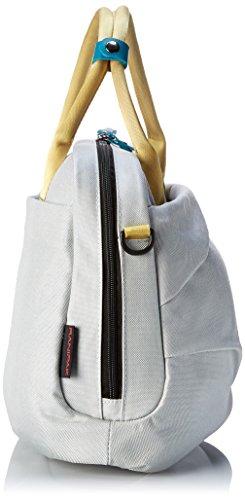 YUMC-Borsa Messenger, grigio (Grigio) - L3013RX grigio