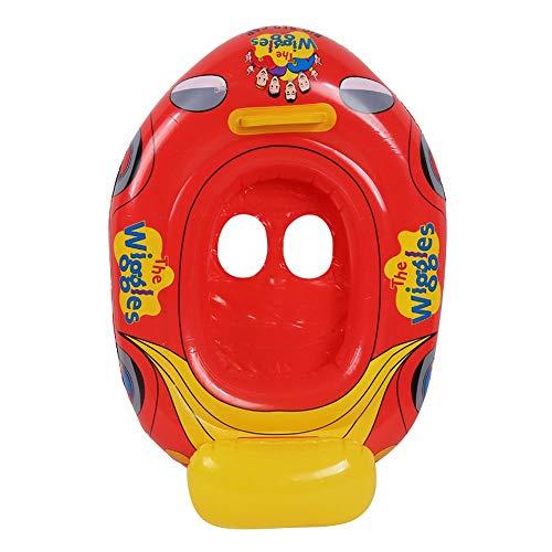 Anglayif Kinder Kleine Rote Auto Form Sitzen Schwimmring, Umweltfreundliche Verdickte Kinder Achseln Schwimmen Float, Kindersitz Schwimmring