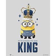 Grupo Erik Editores MPGE0130 - Mini Póster Minions Its Good To Be King, 40 x 50 cm