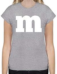 Karneval & Fasching - Gruppen-Kostüm m Aufdruck - Tailliertes Tshirt für Damen und Frauen T-Shirt