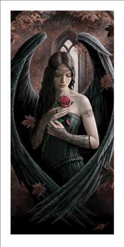 Angel Rose 50 x 100cm Kunstdruck, Mehrfarbig ()