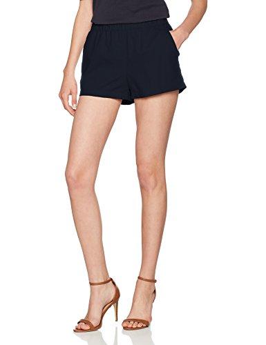 Vero Moda Vmmilo Noos A, Short Femme Bleu (Navy Blazer)