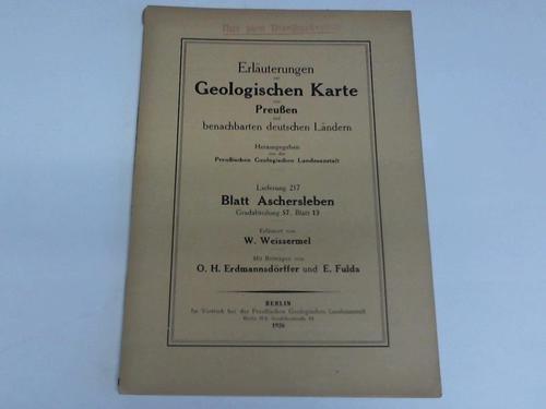 Blatt Aschersleben. Gradabteilung 57, Blatt 13