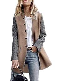 MEIbax Cardigan à manches longues à manches longues pour femmes Femmes laine  hiver et Cachemire femmes fd125f97399