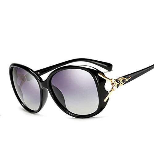 DYFDHA Sonnenbrillen Luxury Elegant Polarized Sunglasses Women Foxhead Google Sun Glasses NEW High Quality Brand Designer UV400 Oculos polarized purple