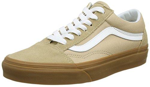 Beige 34.5 EU Vans Old Skool Sneaker Unisex Adulto Sesame/Gum Qa2 lvw