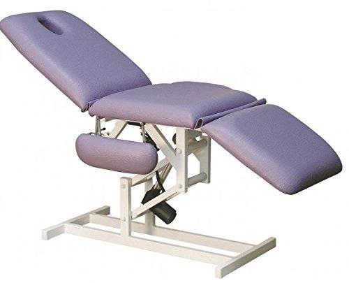 Therapieliege elektrisch, Liege, Patientenstuhl Massage, Kosmetikliege, Farbe Bezug:Nr. 60. schwarz