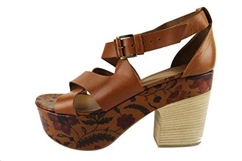 VIC 40 EU sandali donna pelle cuoio AH804