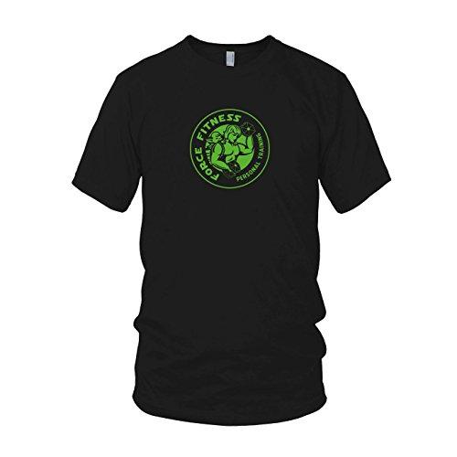 Force Fitness - Herren T-Shirt Schwarz