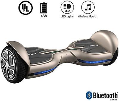 EVERCROSS Diablo Patinete Eléctrico Scooter Hoverboard y certificado UL227talla 6.5