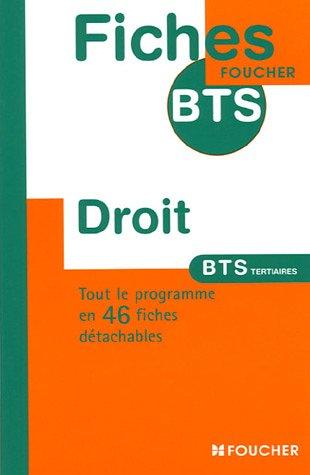 DROIT BTS TERTIARES (Ancienne édition) par Hélène Thomas