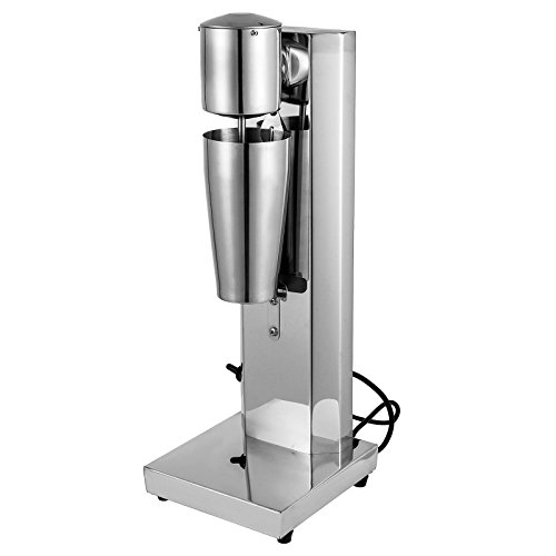 BuoQua 700ml Frullatori Per Milk Shake 180W Milk Shaker Elettrico 13000RPM La Macchina Per Milk Shaker Per Bar E Ristorante (700ml)