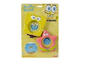 Simba Toys - Set de Juguetes de Playa Bob Esponja