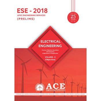 ESE 2018 Prelims Electrical Engineering Objective Volume 2  available at amazon for Rs.540