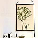 Tapisserie, Gewebten Wandbehang Tapeten Mandala Vorhang Bettdecke Sofa Handtuch Wohnzimmer-Schlafzimmer-wohnheim-Dekor-M 45x65cm(18x26inch)