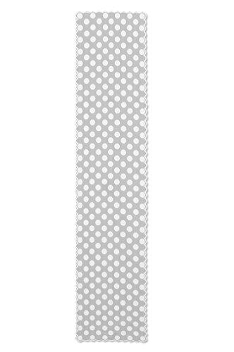 Heritage Spitze Polka Dot Tischläufer, Spitze, weiß, 243.84 x 45.72 x 0.63500000000000001 cm (Tischläufer Dot Polka)