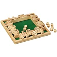 Philos-3280-Shut-The-Box-10er-fr-1-4-Personen-Wrfelspiel-Klappenspiel Philos 3280 – Shut The Box 10er, für 1-4 Personen, Würfelspiel, Klappenspiel -
