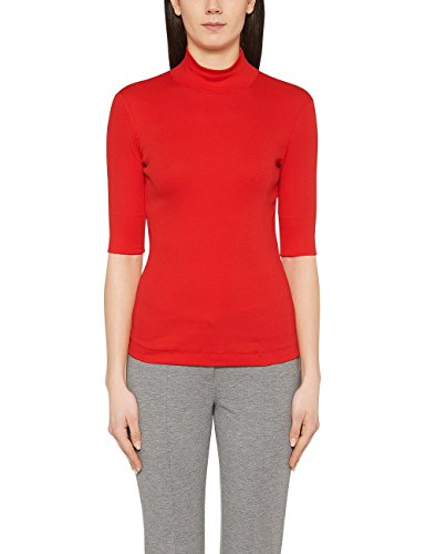 Marc Cain Essentials Marccaindament-Shirts+e4804j50, T-Shirt Femme Rot (scarlet 272)