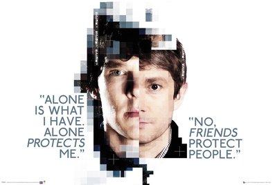 GB eye, Sherlock, Faces, Maxi Poster, 61x91.5cm