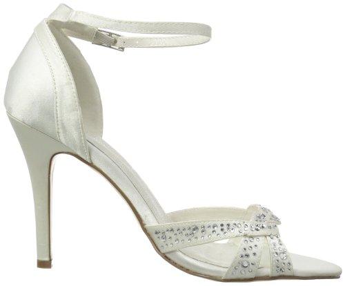 Menbur Wedding Catalina, Bride cheville femme Blanc - Elfenbein (Ivory 04)