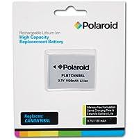 Polaroid haute capacité Canon NB5L Batterie rechargeable au lithium de remplacement (compatible avec: PowerShot SX220, SX230, SD700, SD790, SD800, SD850, SD870, SD880, SD890, SD900, SD950, SD970, SD990, SX200, SX210)