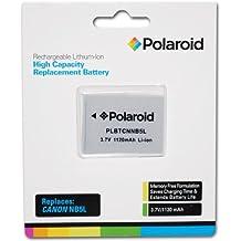 Polaroid Canon NB5L recargable de litio de alta capacidad batería de repuesto (compatible con: PowerShot SX220, SX230, SD700, SD790, SD800, SD850, SD870, SD880, SD890, SD900, SD950, SD970, SD990, SX200, SX210)