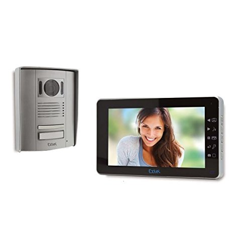 Extel MEMO 2 Colour Videophone with 2x Wires and Complete 7 Inch (18 cm) Screen Monitor