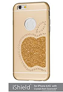 iShield® 6 Light con CRYSTALS from Swarovski® Lusso Moderno Custodia collezione per iPhone 6/6S marca e modello: iShield® 6 Light Swarovski Elements Custodia Re Mela oro Champagne oro iPhone 6/6S