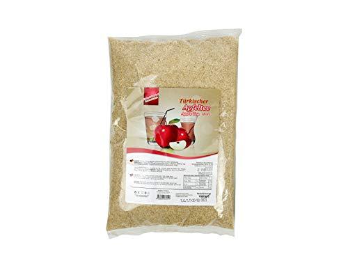 Lezzo, Türkischer Apfeltee roter Apfel, 1000 g Instantgetränk Pulver im Beutel, löslicher Instanttee heiß oder kalt genießen