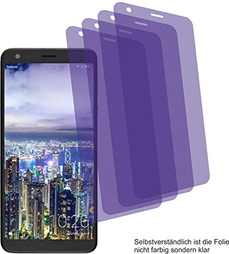 4ProTec 4X Crystal Clear klar Schutzfolie für Sharp Aquos B10 Displayschutzfolie Bildschirmschutzfolie Schutzhülle Displayschutz Displayfolie Folie