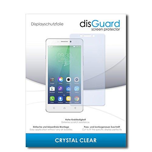 disGuard® Bildschirmschutzfolie [Crystal Clear] kompatibel mit Lenovo Vibe P1m [4 Stück] Kristallklar, Transparent, Unsichtbar, Extrem Kratzfest, Anti-Fingerabdruck - Panzerglas Folie, Schutzfolie