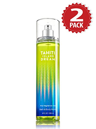 Bath & Body Works Körperspray 2er Pack - Tahiti Island Dream (2x236ml)