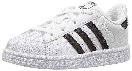 adidas C77154, Jungen Kurzschaft Stiefel, Weiß - White/Core Black/White - Größe: 27 EU