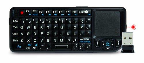 Mobile Laser-pointer (Hamlet XRFKEYPADLP Tastatur für Mobilgerät - Tastaturen für Mobilgeräte (Kabellos, USB, USB, Universal, PC TV Projector Tablet Smartphone, QWERTY))