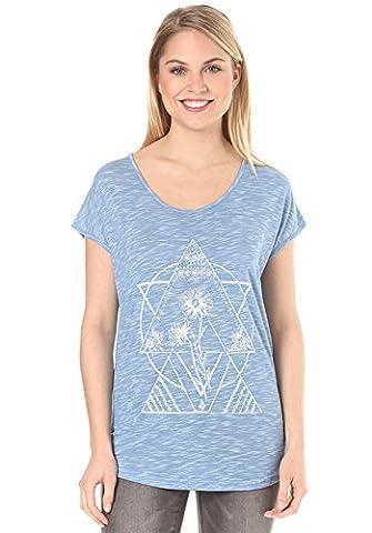 Volcom Got Your Back Top Bleu T-shirt XS bleu électrique