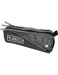 Munich Bikers Estuches, 23 cm, 1 Litro, Negro