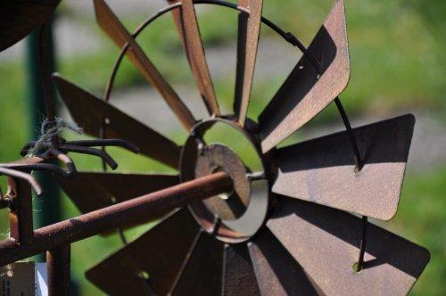 Windrad, Gartenstecker – Höhe 150cm - 4
