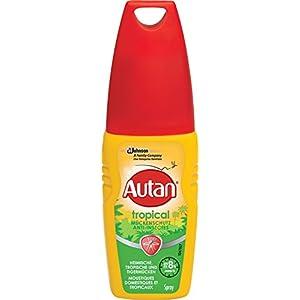 Autan Tropical Pumpspray Insektenschutz Pumpspray für Körper und Gesicht, zum Schutz vor heimischen und tropischen Mücken, 1er Pack (1 x 100 ml)
