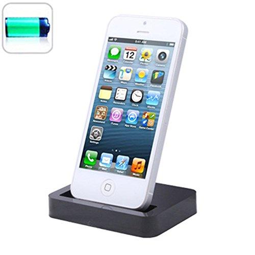 iPhone Desktop Charging Dock - White schwarz