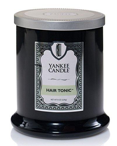 Glas Kokosmilch (Yankee Candle Duftkerze, Glas, schwarz, 13.6x16.6x9 cm)