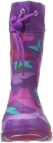 Beck Butterfly, Bottes et bottines à doublure chaude fille Violet - Violett (13 (lila))